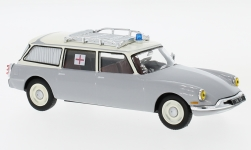 Modelcar - <strong>Citroen</strong> ID 19 Break, light grey/beige, Ambulance, without showcase, 1962<br /><br />SpecialC.-112, 1:43<br />No. 233418