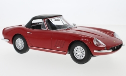 Modelcar - <strong>Ferrari</strong> 275 GTB/4 NART Spyder, red, Softtop lays ein, 1967<br /><br />KK-Scale, 1:18<br />No. 233429