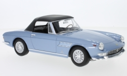 Modelcar - <strong>Ferrari</strong> 275 GTS Pininfarina Spyder, metallic-light blue, Softtop lays ein<br /><br />KK-Scale, 1:18<br />No. 233434