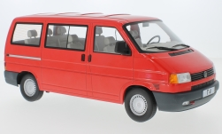Modelcar - <strong>VW</strong> T4 Caravelle, red, 1992<br /><br />KK Scale, 1:18<br />No. 233438
