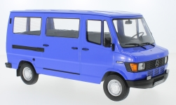 Modelcar - <strong>Mercedes</strong> 208D bus, blue, 1988<br /><br />KK Scale, 1:18<br />No. 233452