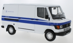 Modellauto - <strong>Mercedes</strong> 208D Transporter, weiss, Mercedes Service<br /><br />KK Scale, 1:18<br />Nr. 233454