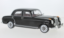 Modellauto - <strong>Mercedes</strong> 220S Limousine (W180 II), schwarz, 1956<br /><br />KK Scale, 1:18<br />Nr. 233461