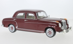 Modelcar - <strong>Mercedes</strong> 220S Limousine (W180 II), dark red, 1956<br /><br />KK Scale, 1:18<br />No. 233462