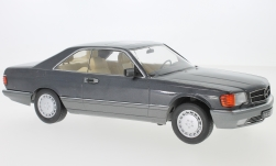 Modellauto - <strong>Mercedes</strong> 560 SEC (C126), metallic-anthrazit, 1985<br /><br />KK Scale, 1:18<br />Nr. 233465