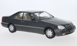Modelcar - <strong>Mercedes</strong> 600 SEC (C140), metallic-anthracite, 1992<br /><br />KK Scale, 1:18<br />No. 233468