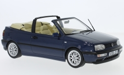 Modellauto - <strong>VW</strong> Golf III Cabriolet, metallic-dunkelblau, 1995<br /><br />Norev, 1:18<br />Nr. 233498