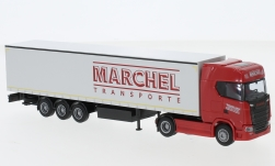 Modellauto - <strong>Scania</strong> S / Aerop., Marchel, G-KSZ<br /><br />AWM, 1:87<br />Nr. 233528