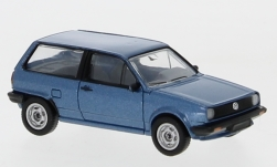 Modelcar - <strong>VW</strong> Polo II, metallic-blue, 1985<br /><br />PCX87, 1:87<br />No. 233668