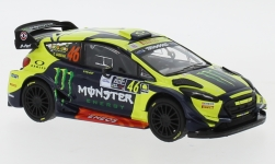 автомодель - <strong>Ford</strong> Fiesta RS WRC, No.46, Monster, Rallye Monza, V.Rossi/C.Cassina, 2018<br /><br />IXO, 1:43<br />№ 233800