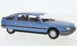 Modelcar - <strong>Citroen</strong> CX 2500 Prestige Phase 2, metallic-blue, 1986<br /><br />WhiteBox, 1:24<br />No. 233803