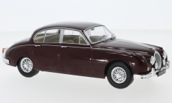 Modelcar - <strong>Jaguar</strong> MK II, dark red, 1960<br /><br />WhiteBox, 1:24<br />No. 233805