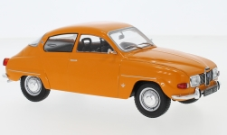 Modelcar - <strong>Saab</strong> 96 V4, orange, 1970<br /><br />WhiteBox, 1:24<br />No. 233807