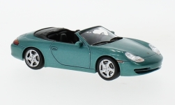 Modellauto - <strong>Porsche</strong> 911 Carrera Kabriolet, metallic-groen, Porsche 911 Collection, 1999<br /><br />SpecialC.-111, 1:43<br />Nr. 233851