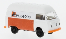 Modelcar - <strong>VW</strong> T2 high roof-box wagon, Linjegods (NO)<br /><br />Brekina, 1:87<br />No. 233988