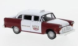 Modellauto - <strong>Checker</strong> Cab, Natick Boston<br /><br />Brekina Drummer, 1:87<br />Nr. 233998