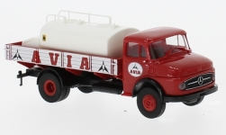 Modellauto - <strong>Mercedes</strong> L 322, Avia, Pritsche mit Tank<br /><br />Brekina, 1:87<br />Nr. 234067