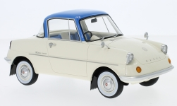 Modellauto - <strong>Mazda</strong> R360, beige/blau, RHD, 1960<br /><br />DNA Collectibles, 1:18<br />Nr. 234124