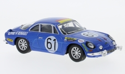 Modellauto - <strong>Alpine Renault</strong> A110, No.61, 24h Le Mans, J.Bourdon/M.Nussbaumer, ohne Vitrine, 1968<br /><br />SpecialC.-94, 1:43<br />Nr. 234158
