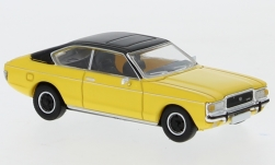 Modelcar - <strong>Ford</strong> Granada MK I Coupe, yellow/matt-black, 1974<br /><br />PCX87, 1:87<br />No. 234172