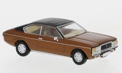 Modelcar - <strong>Ford</strong> Granada MK I Coupe, metallic-brown/matt-black, 1974<br /><br />PCX87, 1:87<br />No. 234173