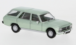 Modelcar - <strong>Peugeot</strong> 504 Break, metallic-light green, 1978<br /><br />PCX87, 1:87<br />No. 234179