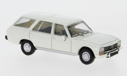 Modellauto - <strong>Peugeot</strong> 504 Break, weiss, 1978<br /><br />PCX87, 1:87<br />Nr. 234180