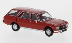 Modelcar - <strong>Peugeot</strong> 504 Break, red, 1978<br /><br />PCX87, 1:87<br />No. 234181