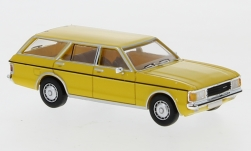 Modelcar - <strong>Ford</strong> Granada MK I Turnier, yellow, 1974<br /><br />PCX87, 1:87<br />No. 234187