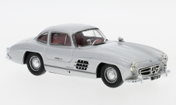 Modelcar - <strong>Mercedes</strong> 300 SL (W198), silver, without showcase, 1955<br /><br />SpecialC.-16, 1:43<br />No. 234291