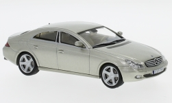Modellauto - <strong>Mercedes</strong> CLS 500 (C219), metallic-kalk, zonder Vitrine, 2004<br /><br />SpecialC.-16, 1:43<br />Nr. 234305