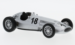 Modellauto - <strong>Mercedes</strong> W154, No.18, Formel 1, zonder Vitrine, 1939<br /><br />SpecialC.-16, 1:43<br />Nr. 234307
