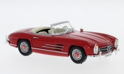 Modelcar - <strong>Mercedes</strong> 300 SL Roadster (W198), red, without showcase, 1957<br /><br />SpecialC.-16, 1:43<br />No. 234313