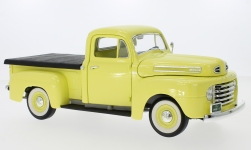 ModelCar - <strong>Ford</strong> F-1 Pick Up With Flatbed Cover, hellgelb, 1948<br /><br />Lucky Die Cast, 1:18<br />No. 234342