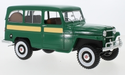 Modelcar - <strong>Jeep</strong> Willys Station Wagon, green, 1955<br /><br />Lucky Die Cast, 1:18<br />No. 234350