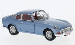 Modellauto - <strong>MG</strong> B Jaques Coune, metallic-blau, 1964<br /><br />AutoCult, 1:43<br />Nr. 234354