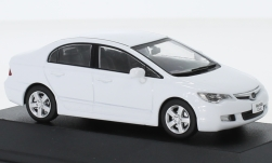 Modellauto - <strong>Honda</strong> Civic, wit, RHD, 2006<br /><br />First 43 Models, 1:43<br />Nr. 234389