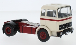 Modelcar - <strong>Mercedes</strong> LPS 1632, beige/red, 1970<br /><br />IXO, 1:43<br />No. 234395