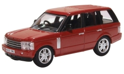 Modellauto - <strong>Land Rover</strong> Rang Rover 3rd Generation, dunkelrot<br /><br />Oxford, 1:76<br />Nr. 234532