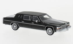 Modelcar - <strong>Cadillac</strong> Fleetwood formal Limousine, black, 1980<br /><br />BoS-Models, 1:87<br />No. 234576
