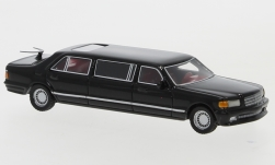 Modelcar - <strong>Mercedes</strong> V126 Trasco, black, 1990<br /><br />BoS-Models, 1:87<br />No. 234612
