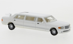 Modelcar - <strong>Mercedes</strong> V126 Trasco, white, 1990<br /><br />BoS-Models, 1:87<br />No. 234613