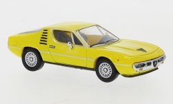 ModelCar - <strong>Alfa Romeo</strong> Montreal, gelb, 1970<br /><br />PCX87, 1:87<br />番号 234642