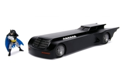 Modellauto - <strong>Batman</strong> Batmobile, Batman - The Animated Series, mit Figur<br /><br />Jada, 1:24<br />Nr. 234668