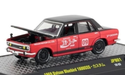 Modellauto - <strong>Datsun</strong> Bluebird 1600 SSS, schwarz/rot, Coca Cola, 1969<br /><br />M2 Machines, 1:64<br />Nr. 234674