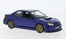 Modelcar - <strong>Subaru</strong> Impreza WRX STI, blue<br /><br />Welly, 1:24<br />No. 234692