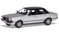 Modelcar - <strong>Ford</strong> Cortina MkIV 3.0 Savage, silver/black, RHD<br /><br />Vanguards, 1:43<br />No. 234800