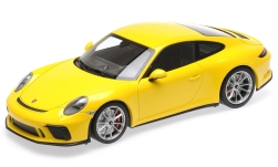 Modelcar - <strong>Porsche</strong> 911 (991.II) GT3 Touring, yellow, 2018<br /><br />Minichamps, 1:18<br />No. 234831