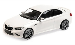 Modelcar - <strong>BMW</strong> M2 Competition, white, 2019<br /><br />Minichamps, 1:18<br />No. 234854