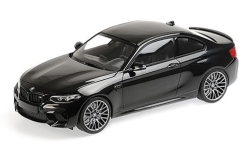 Modelcar - <strong>BMW</strong> M2 Competition, metallic-black, 2019<br /><br />Minichamps, 1:18<br />No. 234857